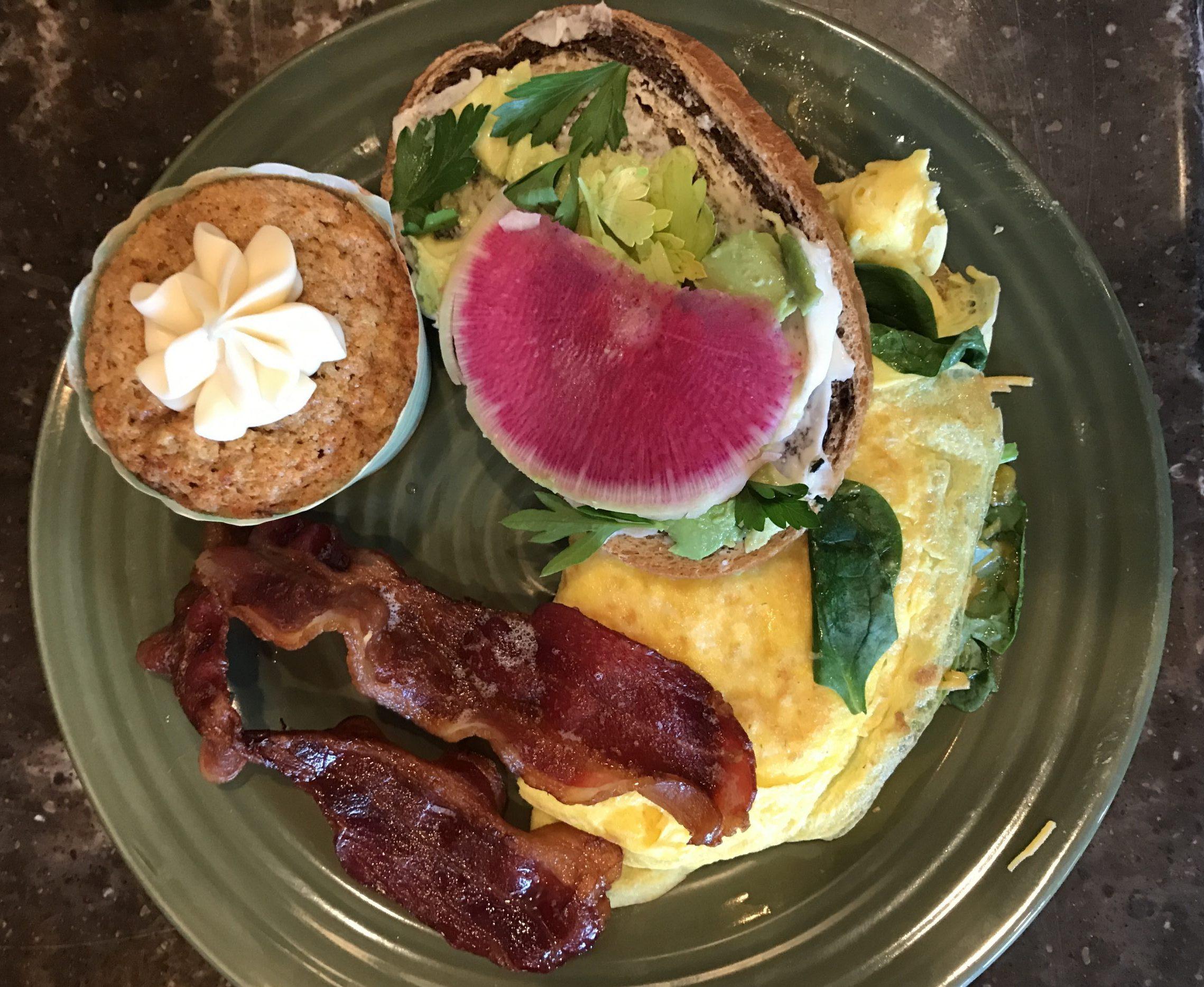 Gourmet Breakfast Plate