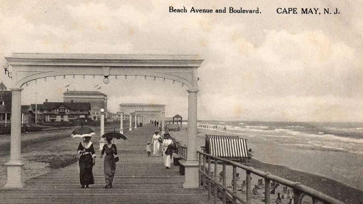 Cape May's Historic Boardwalk
