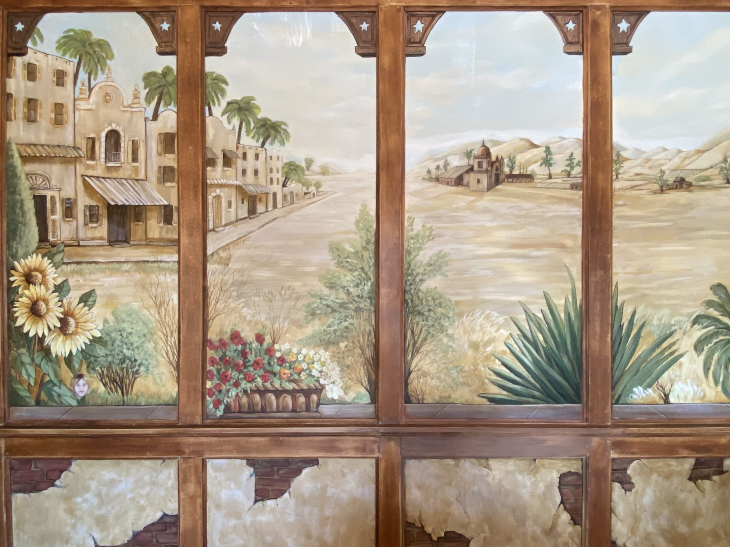 Murals at The Mission Inn