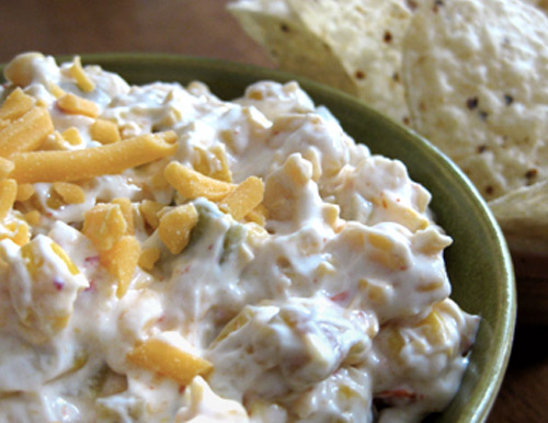Baked Mexican Corn Dip - The Mission Inn Recipes