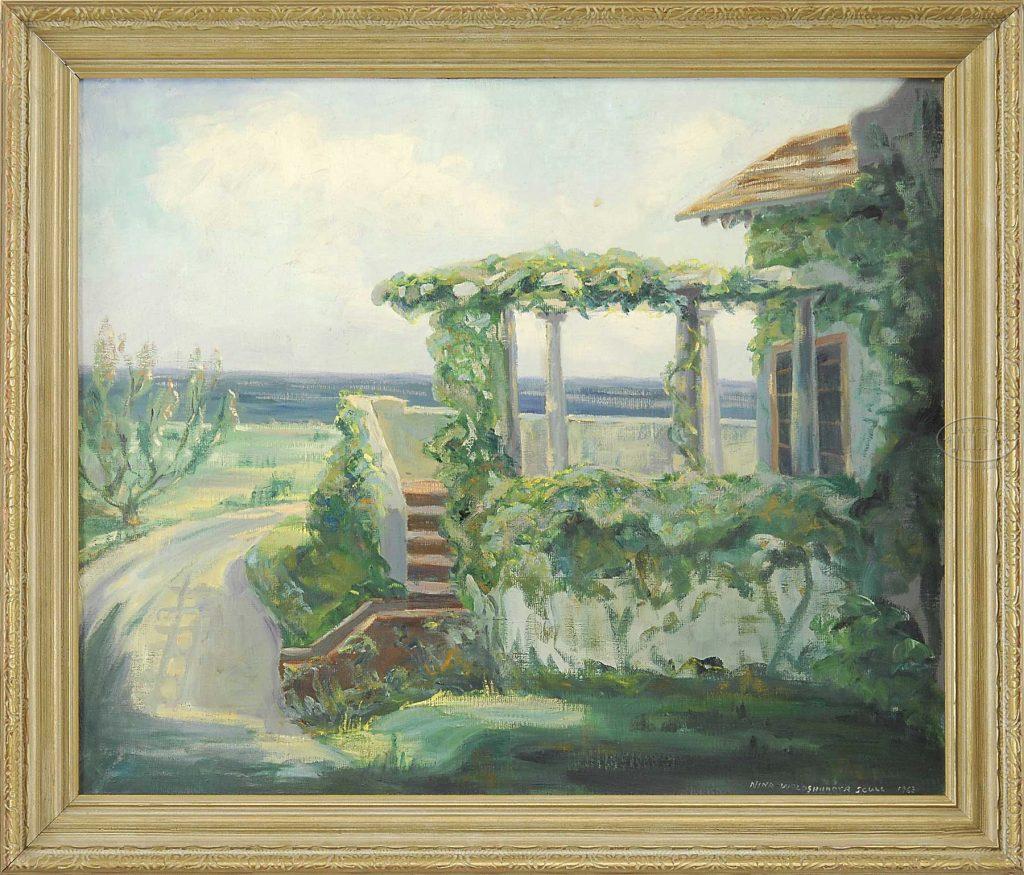 Nina Scull Painting