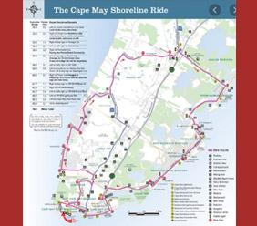 Cape May Shoreline Bike Ride