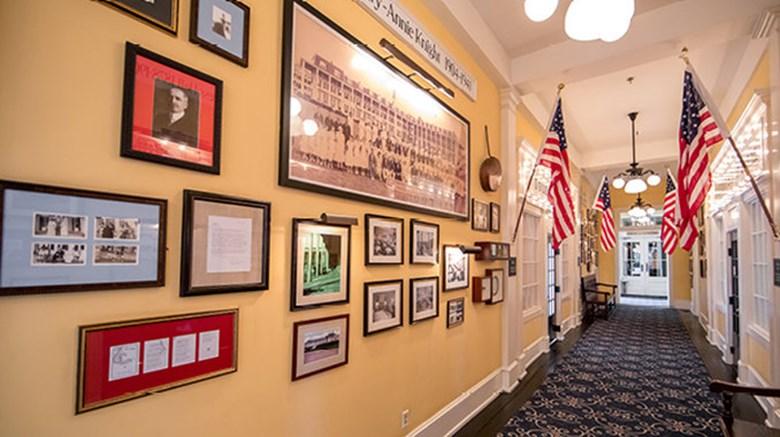 Congress Hall's History Walls